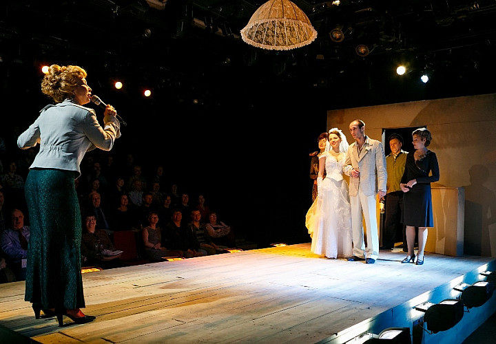 СКРИПКА, БУБЕН И УТЮГ (16+) комедия про свадьбу и жизнь