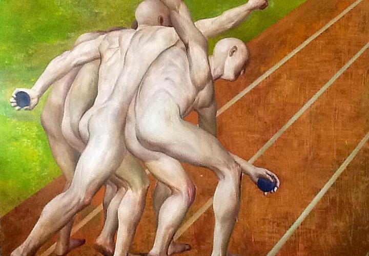 Выставка живописи и скульптуры Ло Си