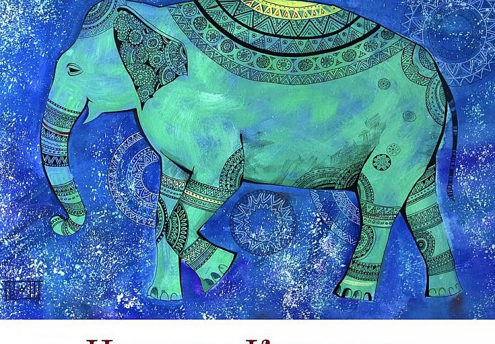 Выставка Наталии Клименко «Созвездие Слона»