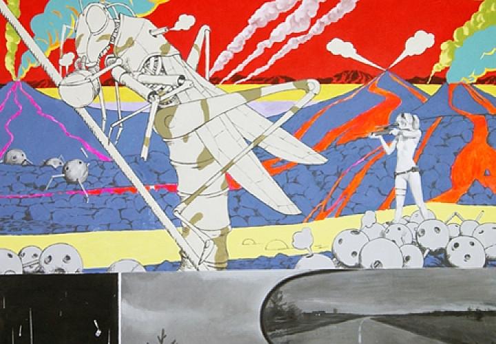 Выставка Павла Полянского «Война миров»