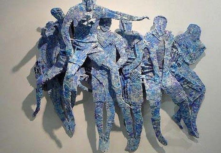 Выставка скульптур Семёна Платонова