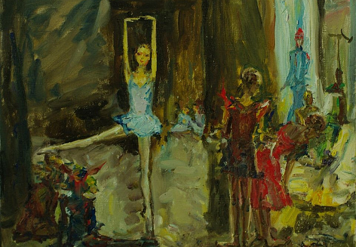 Выставка «Театральная сказка» закулисных работ Ларисы Ахмадеевой