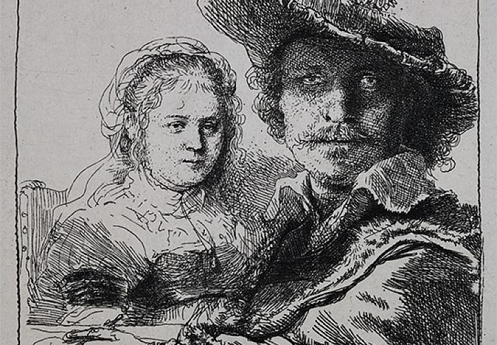 Выставка «Рембрандт и его последователи. Западноевропейская и русская графика XVII - первой половины XX вв.»