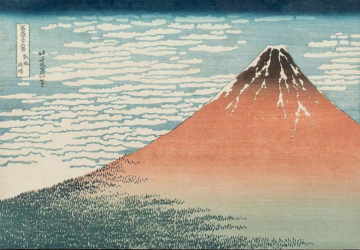 Выставка «Картины ускользающего мира. Золотой век японской графики»