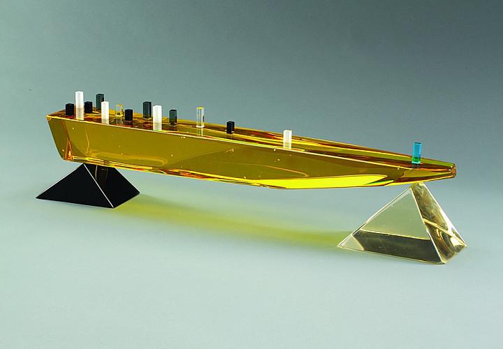 Андрей Молчановский. Скульптура. Оптическое стекло