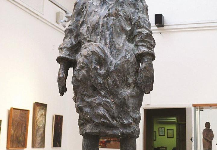 Выставка произведений Льва Матюшина. Скульптура, графика