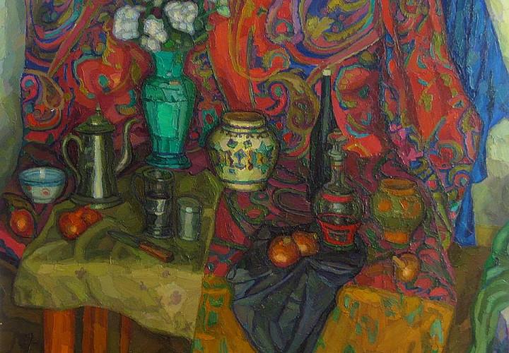 Выставка «Юрий Шестаков. Живопись. Графика. Авторская книга»