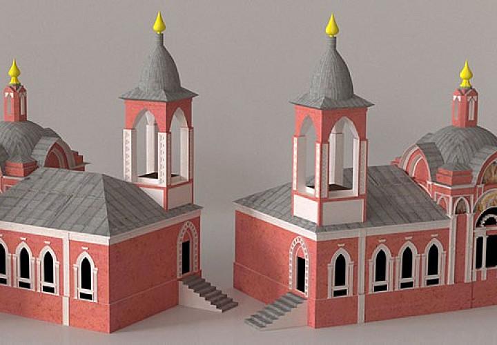 Утраченная Москва в 3D.  Макеты, цифровые реконструкции