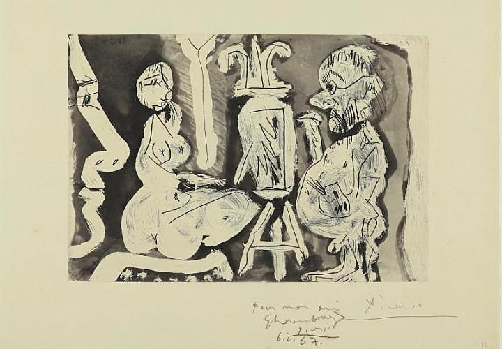 Пабло Пикассо. Художник и книга