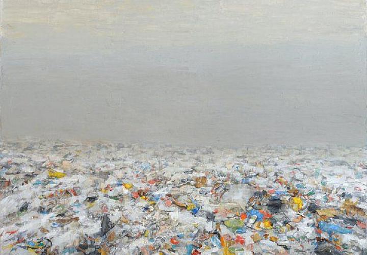 Выставка Павла Отдельнова  «Пустыни. 2002-2017» Проект «Передвижной музей одной картины». Первые ретроспективы