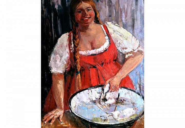 Выставка живописи Юлии Ващенко