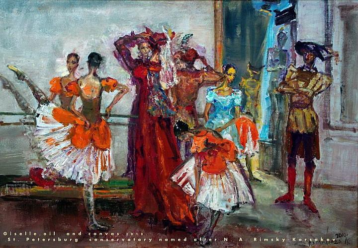 Выставка Ларисы Ахмадеевой  «Мелодия души»