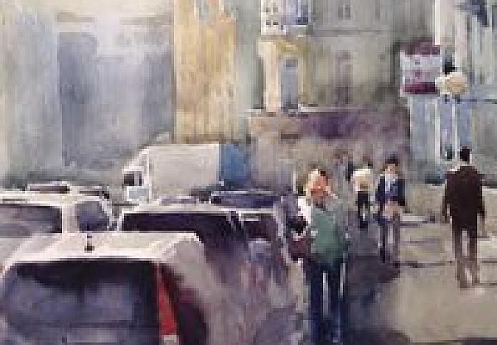 Выставка акварелей Андрея Есионова