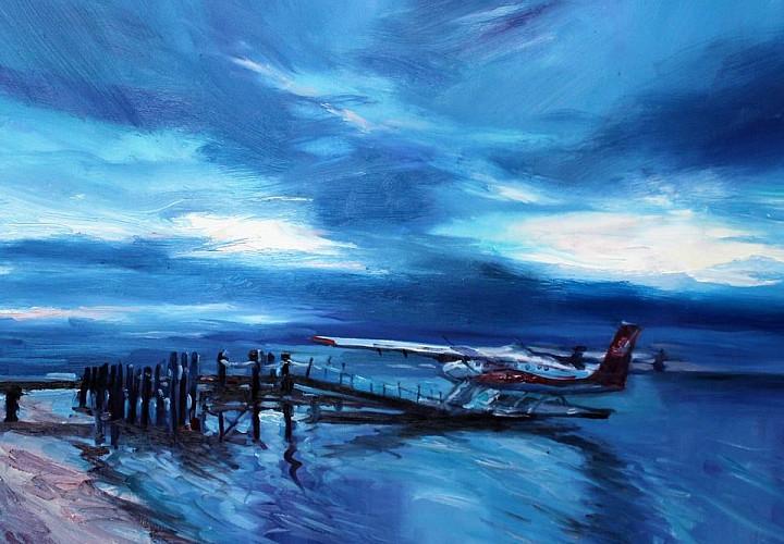 Выставка Юлии Волконской «Поймай волну!»