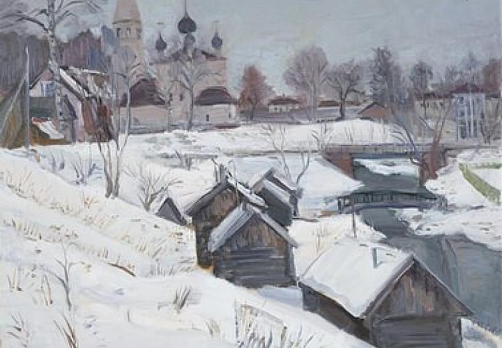 Волшебная мозаика зимы