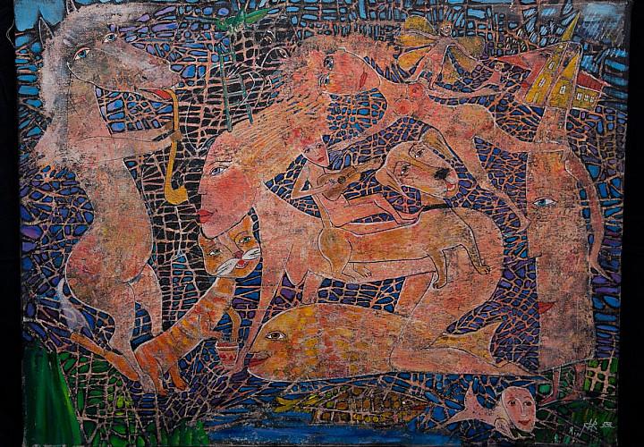 Выставка художника Ирины Рабецкой «Параллельные миры»