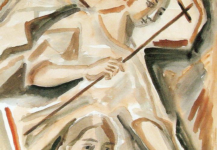 «Акварель». Выставка произведений Элеоноры Жареновой