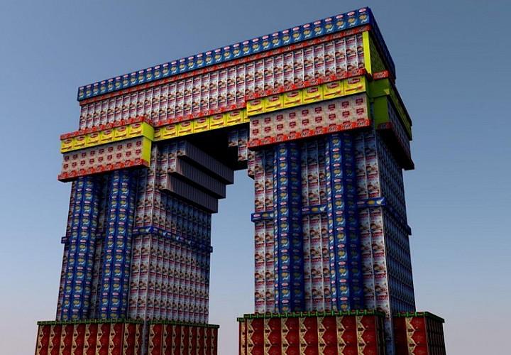 «Триумфальная арка». Ольга Божко
