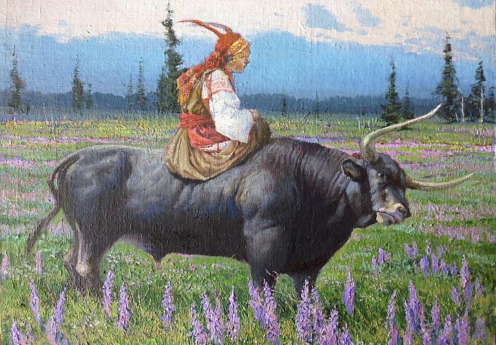 Выставка живописи Дмитрия Маркова «Ступени времени. Из прошлого в настоящее»