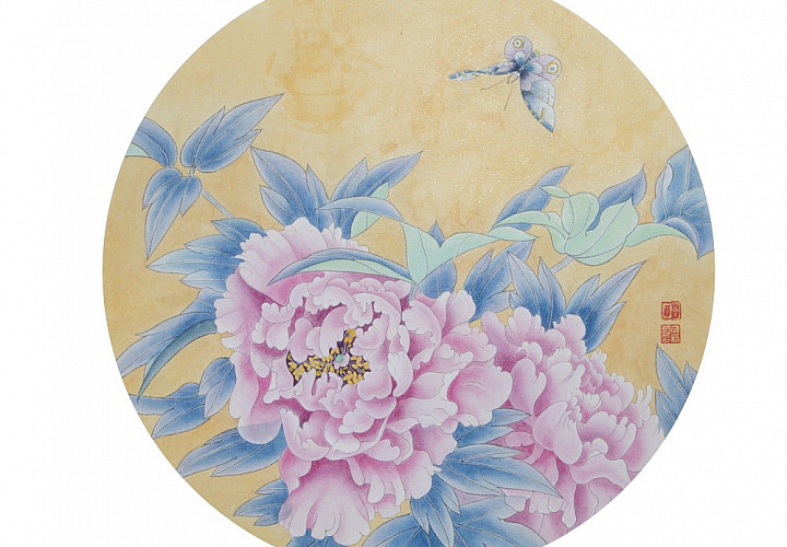 The exhibition of Chinese painting