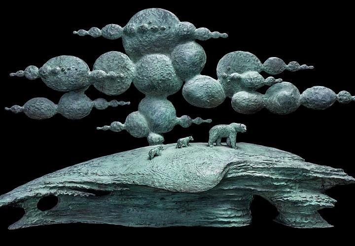 Выставка Олега Закоморного «Равновесие»