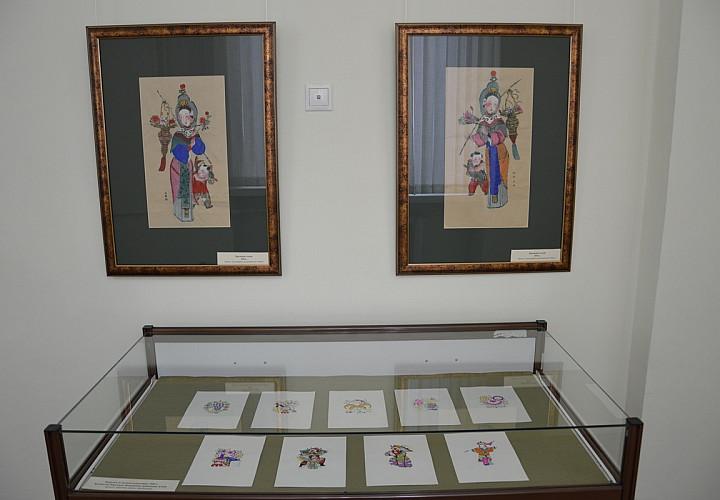 Выставка «Волшебный мир китайской народной картины»