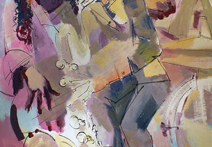 Выставка живописи и графики Виктора Борисова «Магия движения», 16+