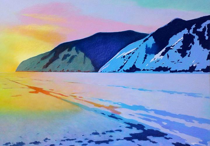 Выставка живописи Петра Гамаюнова «Россия и чарующий Байкал», 6+