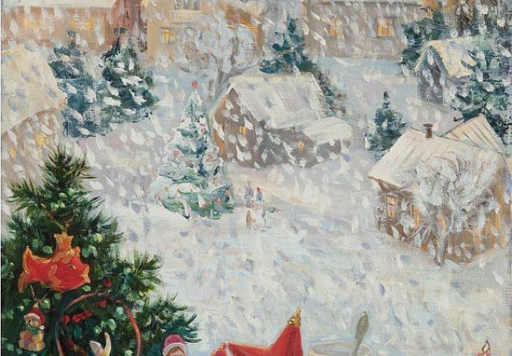 «Гороховец – ожившая легенда». Выставка произведений В.С. Бубела-Масловой