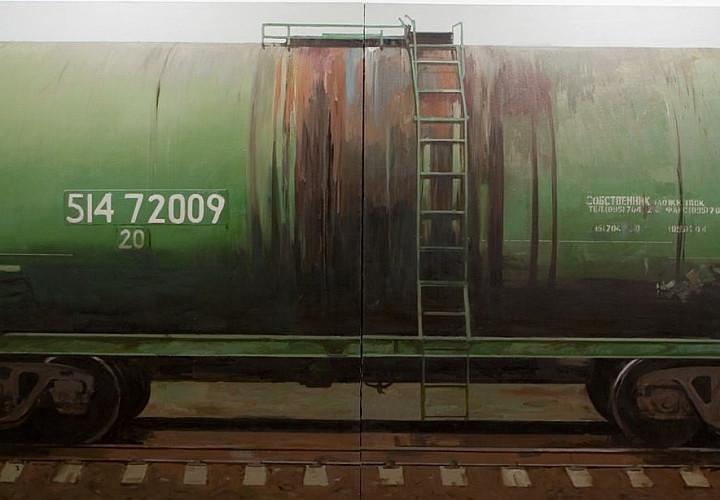 Выставочный проект «Прибытие поезда». 6+