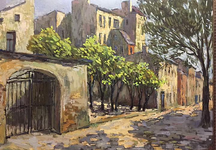 Выставка живописи «Прогулки по моему городу» художника Анатолия Лобынцева