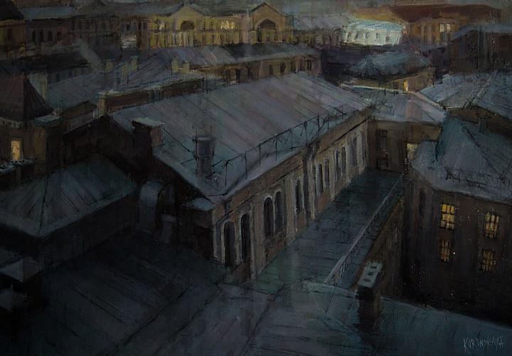 Выставка Анастасии Коронской «Пространство в пространстве»