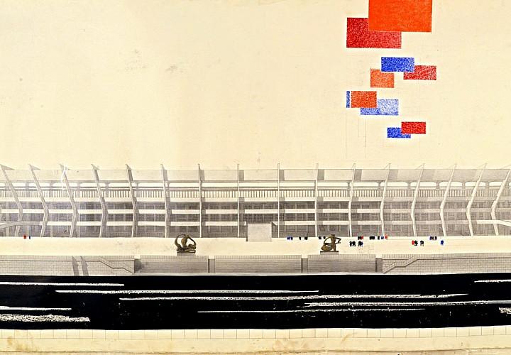 Выставочный проект «Архитектура стадионов»