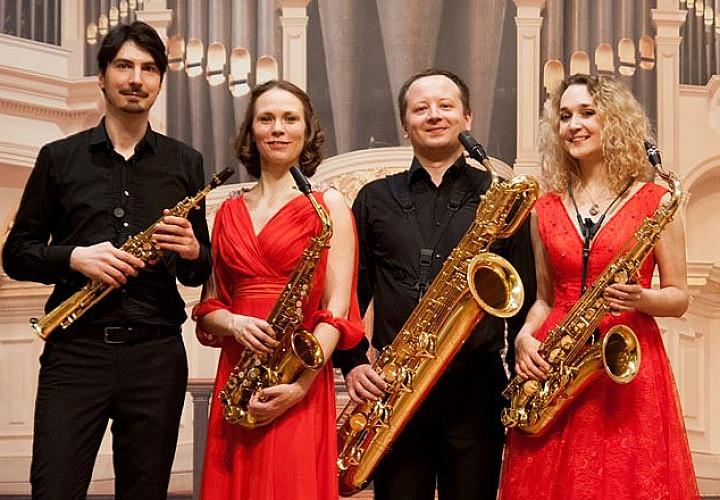 Четыре саксофона. Четыре эпохи. Ансамбль саксофонистов «ПО-Квартет»