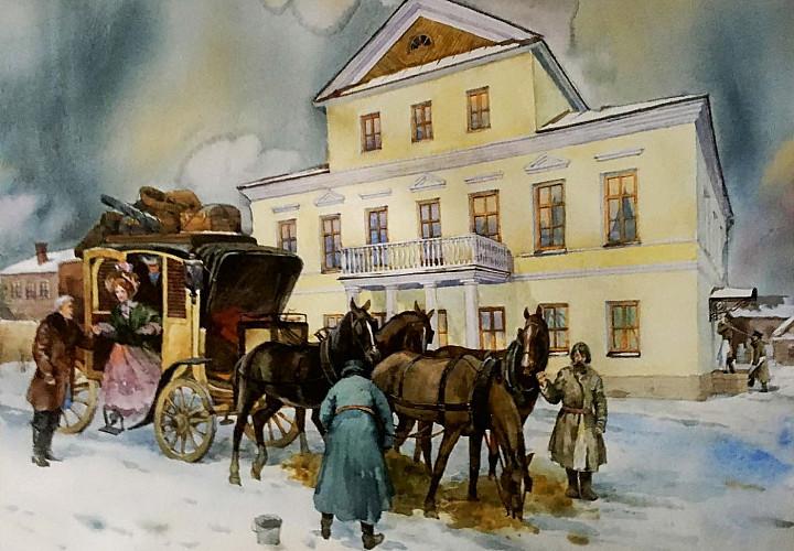 Выставка к 190-летию Льва Николаевича Толстого