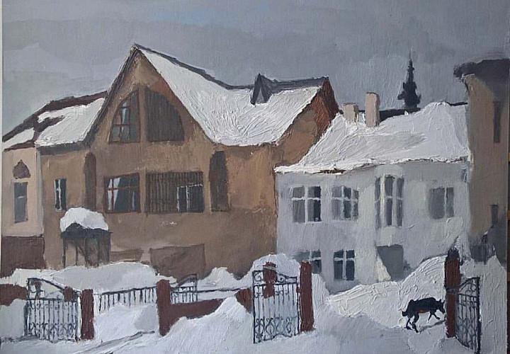 Выставка живописи Артёма Новоселова «Пятый день недели» (10+)