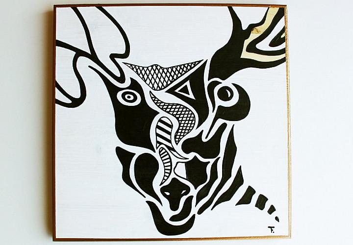 Выставка графики «Черное и Белое» (6+)