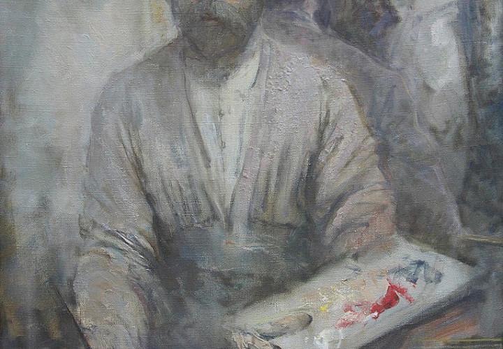 Exhibition of works by Alan Kalmanov, Zaurbek Dzanagova and Madina Kalmanova. Painting and Sculpture