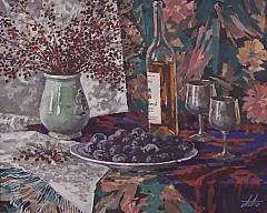 Персональная выставка Анатолия Аносова: живопись, графика, экслибрис, книжная иллюстрация