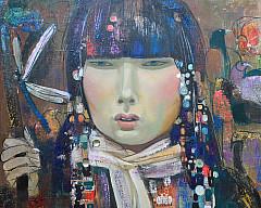 Персональная выставка художника из Бурятии Бальжинимы Доржиева