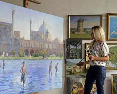 Выставка Полины Илюшкиной «Прекрасный Восток»
