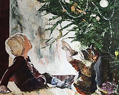 Выставка произведений Виолетты Нечаевой «Начало»