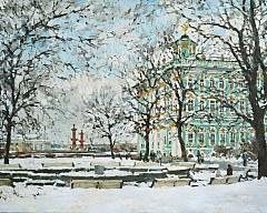 Выставка городского пейзажа Павла Еськова «Петербургское настроение»