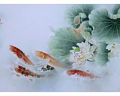 Выставка классической китайской живописи стиля ГУНБИ («тщательная кисть»)  Мастера Гун Сюэцина
