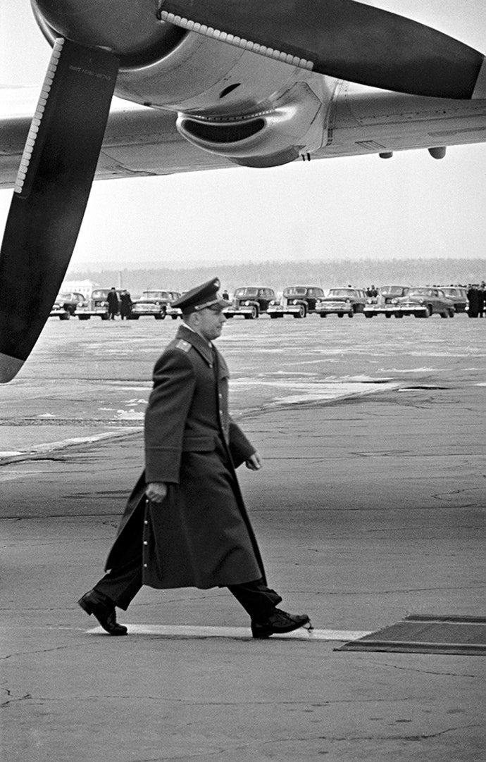 Юрий Гагарин. Внуково, 14 апреля, 1961 год