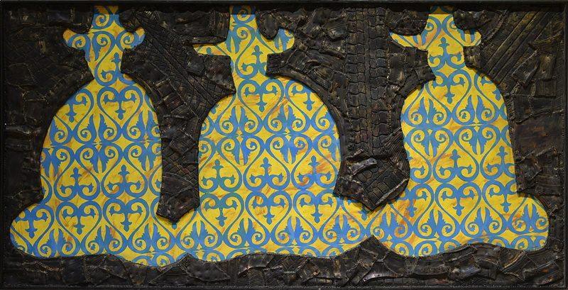 Три бия. Молдакул Нарымбетов. Выставка «Черные вихри на синем или зелено-голубом фоне» в музее Эрарта