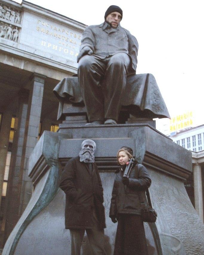 Д.Пригов, И.Юсупова. Монтаж А.Долгина 2000-е. Музей Москвы