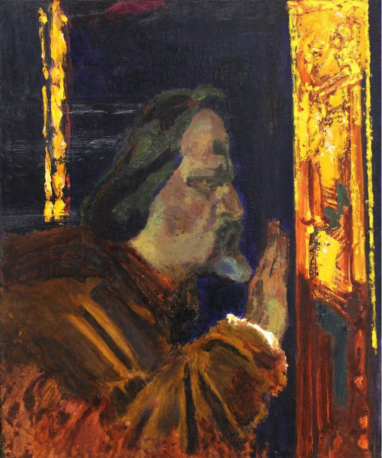 Андрей Рубцов. Прикосновение. 2006. Иркутск. Холст, масло