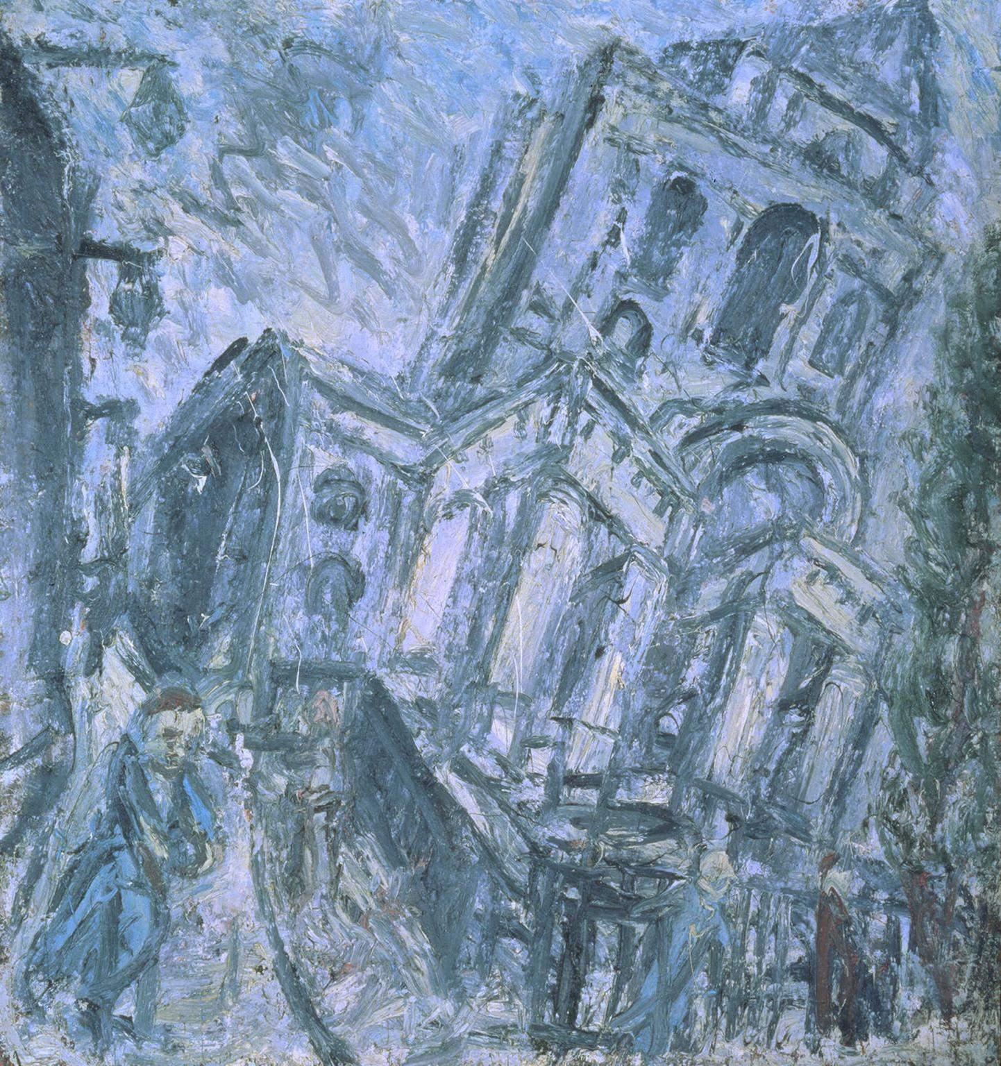 Леон Коссоф. Церковь Христа, Спиталфилдс, утром, 1990