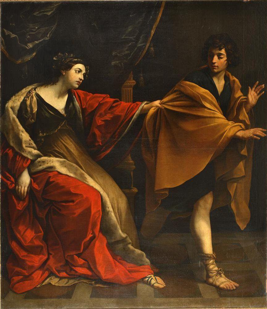 Рени Гвидо. Иосиф и жена Пентефрия. Около 1626. Холст, масло. ГМИИ им. А.С. Пушкина